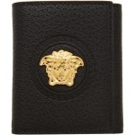 Black Palazzo Trifold Wallet