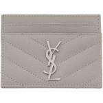 Grey Monogramme Card Holder