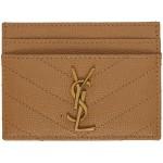 Brown Monogramme Card Holder