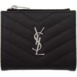 Black Monogramme Fold Over Wallet