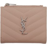 Pink Monogramme Fold Over Wallet