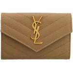 Beige Small Monogramme Envelope Wallet