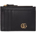 Black GG Marmont Card Holder