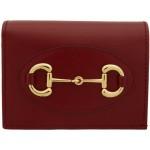 Red 'Gucci 1955' Horsebit Wallet