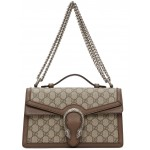Beige  GG Supreme Dionysus Top Handle Bag