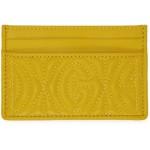 Yellow GG Card Holder
