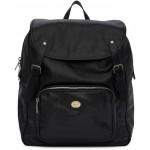 Black Fuffy Backpack