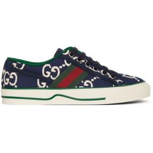 Navy GG 1977 Tennis Sneakers