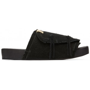 Black Christo Shaman-Folk Sandals