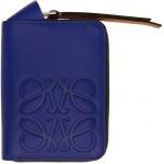 Blue Brand 6 Card Zip Wallet