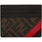 Black & Red 'Forever Fendi' Card Holder