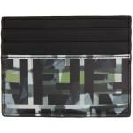 Black & Green 'Forever Fendi' Camouflage Card Holder