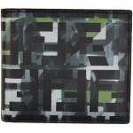 Black & Green Camo 'Forever Fendi' Wallet
