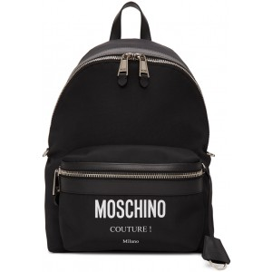 Black 'Couture' Backpack