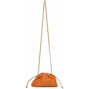 Orange Small 'The Pouch' Clutch