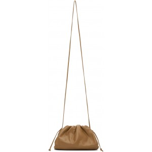 Tan Small 'The Pouch 20' Clutch