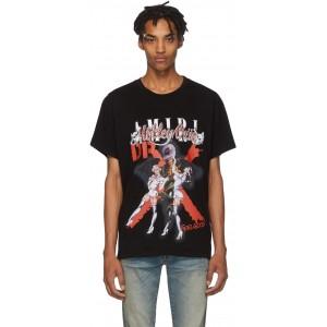 Black 'Moetley Cruee Dr Feelgood' T-Shirt