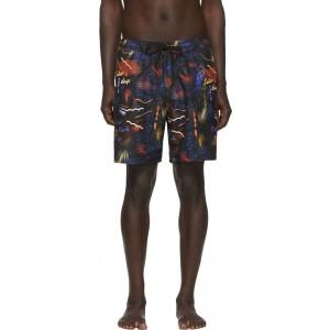 Black Timothy Swim Shorts
