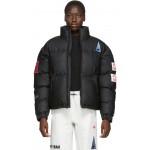 Black Flex2Club Puffer Jacket