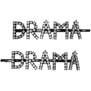 Transparent 'Drama' Hair Clip Set