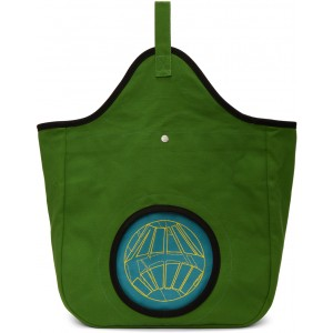 Green & Blue Aristides Embroidery Tote