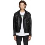 Black Leather Garrett Jacket