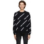 Reversible Black K-Davis 'Only the Brave' Sweatshirt