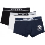 Three-Pack Multicolor UMBX Shawn Boxer Briefs
