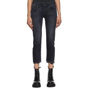 Black Boy Straight Jeans
