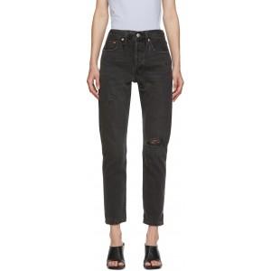 Black 501 Skinny Jeans