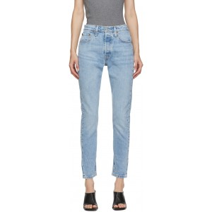 Blue 501 Skinny Jeans