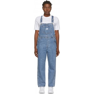 Blue Denim Vintage Overalls