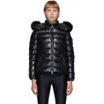 Black Down & Fur Bady Jacket