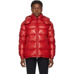 Red Down Maire Coat