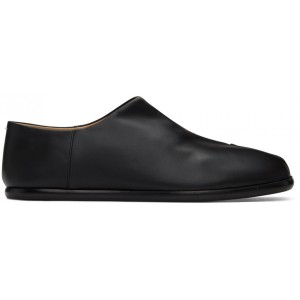Black Tabi Babouche Loafers