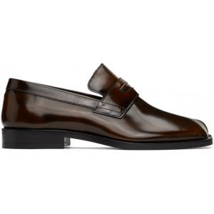 Brown Tabi Advocate loafers