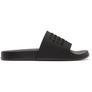 Black Shower Slides