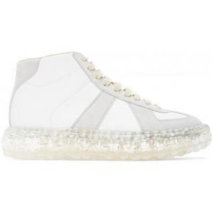 White Caviar High-Top Sneakers