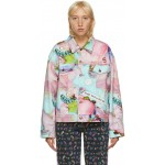 Multicolor Maisie Cousins Edition 'The Oversized Denim' Jacket