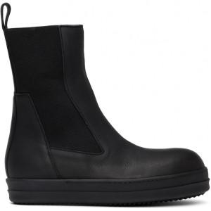 Black Bozo Chelsea Boots