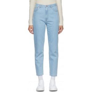 Blue 80s Jeans