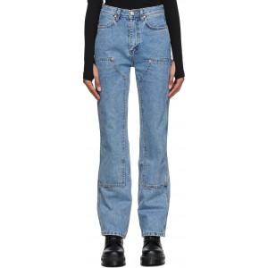 Blue Jade Carpenter Jeans