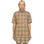 Beige Curlew Short Sleeve Shirt