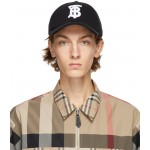 Black TB Baseballl Cap