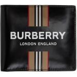 Black Icon Stripe International Wallet