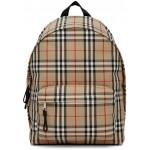 Beige Check Jett Backpack