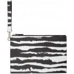 Black & White Zebra Print Pouch