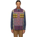 Multicolor Check Tindall Patchwork Shirt