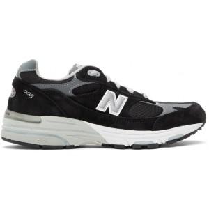 Black & Grey Made In US 993 Sneakers