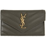 Grey Monogramme Quilted Wallet